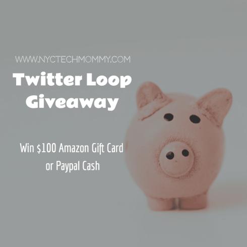 Twitter Loop Giveaway - Win $100