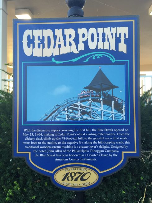 Cedar Point considered Roller Coaster Capital of the World and some consider it the World's Best Amusement Park - Check out our 5 Reasons to Visit Cedar Point this Fall