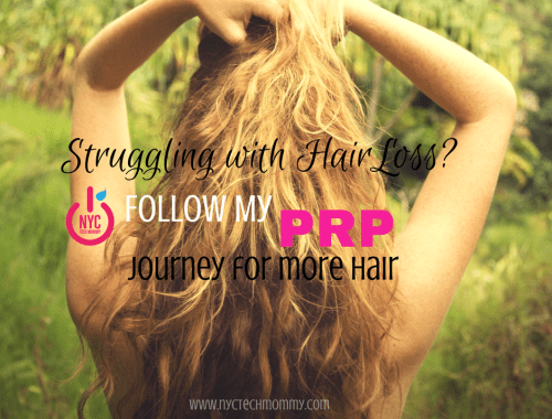 Almost 56 million Americans deal with hair loss every day and 40% of those people are women. Are you one of them? Follow my PRP Hair Treatment Journey for more hair and get all the details on hair repair and growth.