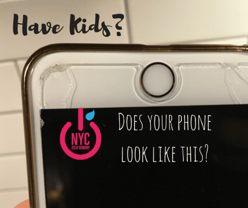 Does your phone look like this? Have you stopped counting how many times your phone gets dropped by the kids? Protect your phone now with InvisibleShield Glass+. It protects like no other!