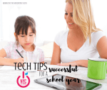 Whether your little ones are in preschool or you have not-so-little ones entering college, here are a few tech tips for a successful school year