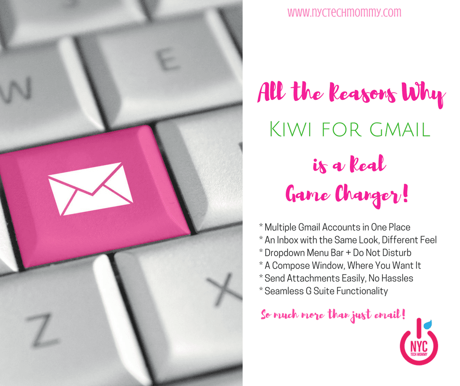 Revolutionize your Gmail with Kiwi for Gmail -- transform functionality and interface, and how you use Google apps. Learn all the reasons why Kiwi for Gmail is a game changer! #Sponsored