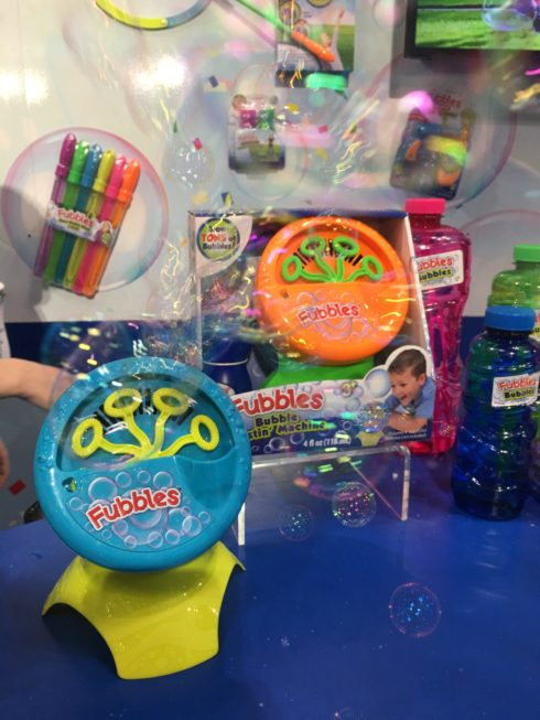 New Cool Toys Unveiled at Toy Fair 2017 - Fubble Bubbles