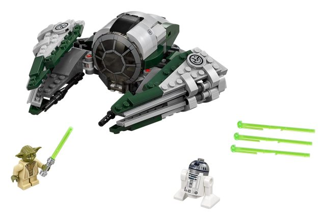 Cool New Toys Unveiled at Toy Fair 2017 - LEGO Star Wars 75168_ Yoda's Jedi Starfighter