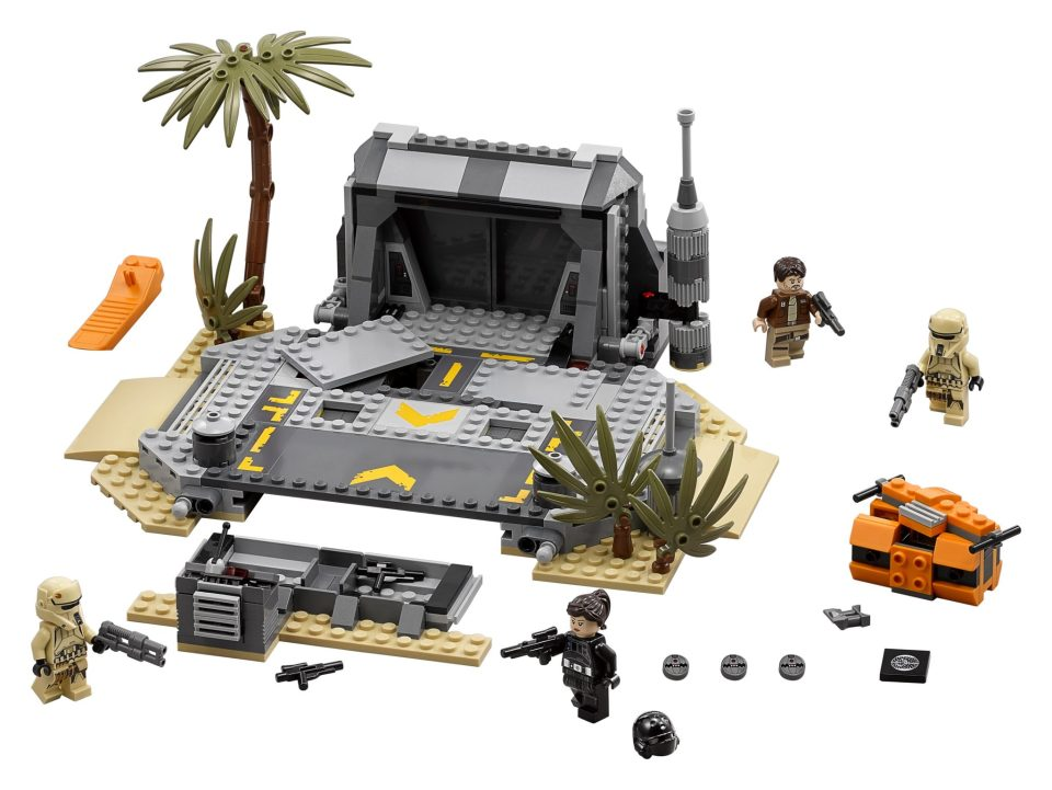 Cool New Toys Unveiled at Toy Fair 2017- LEGO Star Wars Rogue One 75171_Battle of Scarif