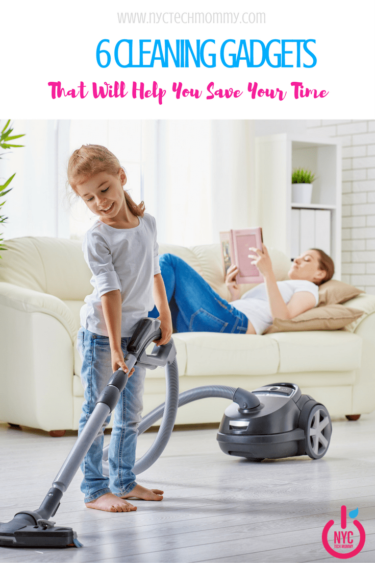 Here are 6 Cleaning Gadgets that will help you save your time and get the job done with ease.