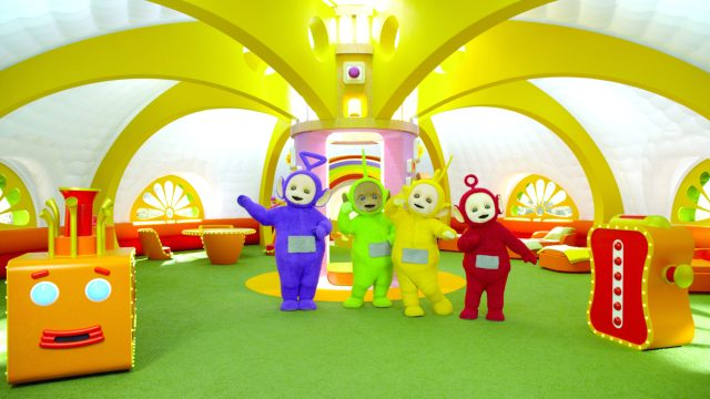 Teletubbies returned to NYC to celebrate their 2oth Anniversary! Can you believe these huggable Tubbies have been around for 20 years? See how we celebrated
