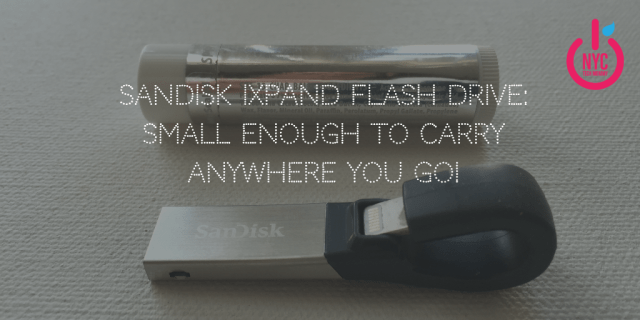 SanDisk iXpand Flash Drive - Small enough to carry anywhere you go and the best tech gift for your mom!