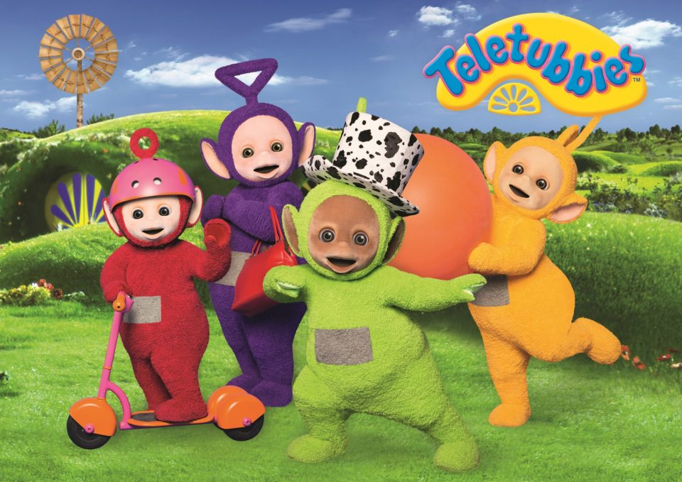 Teletubbies DVDs