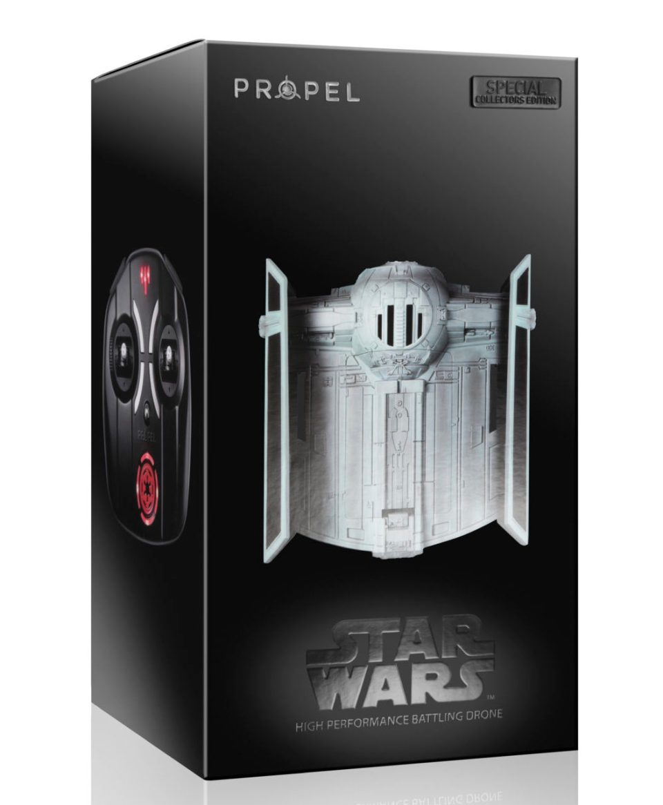 Propel Star Wars Battle Drone Tie Fighter Box