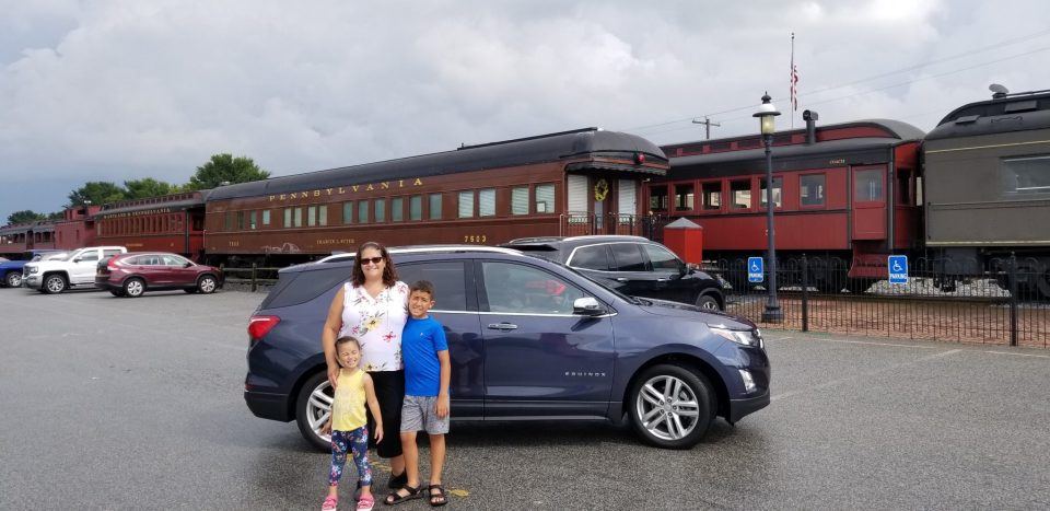 Chevy Equinox family road trip