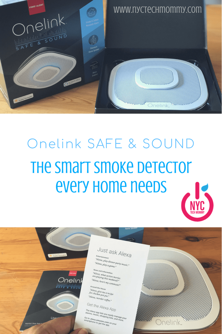 Onelink Safe & Sound is the SMART smoke detector every home needs. Here's why!