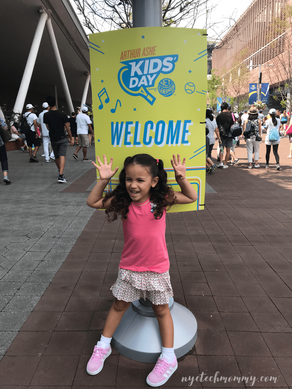 Arthur Ashe Kids Day with Emirates