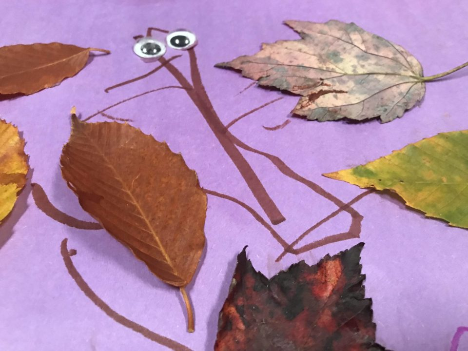 Leaf creation ideas to play with your kids