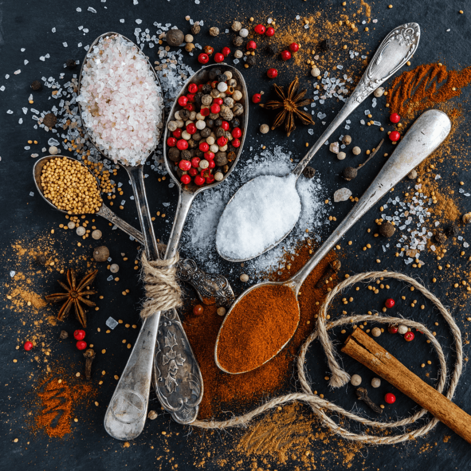 spices for the holidays