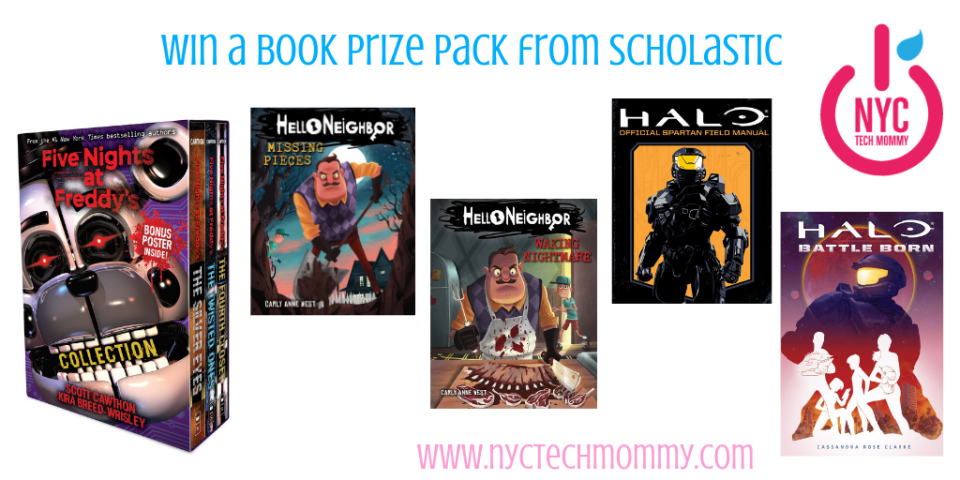 Win a book prize pack from Scholastic