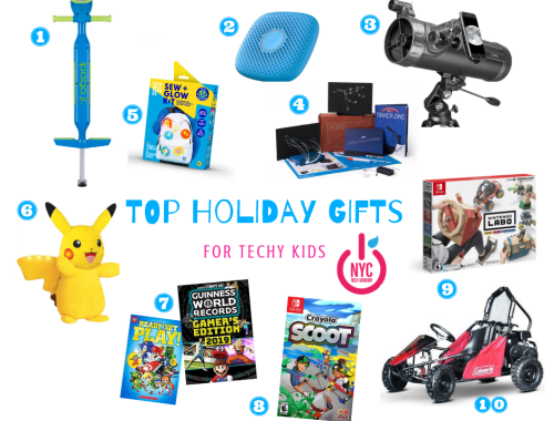 TOP HOLIDAY GIFTS FOR TECHY KIDS