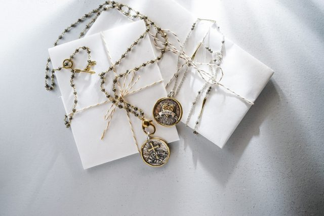 Waxing Poetic Necklace and Charms