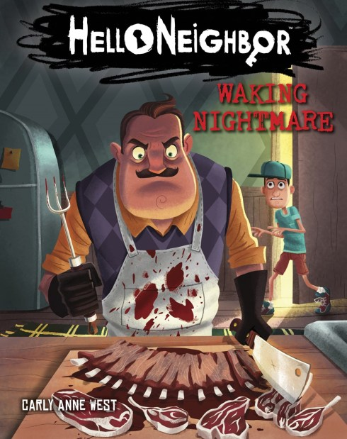 Hello Neighbor-Waking Nightmare Book