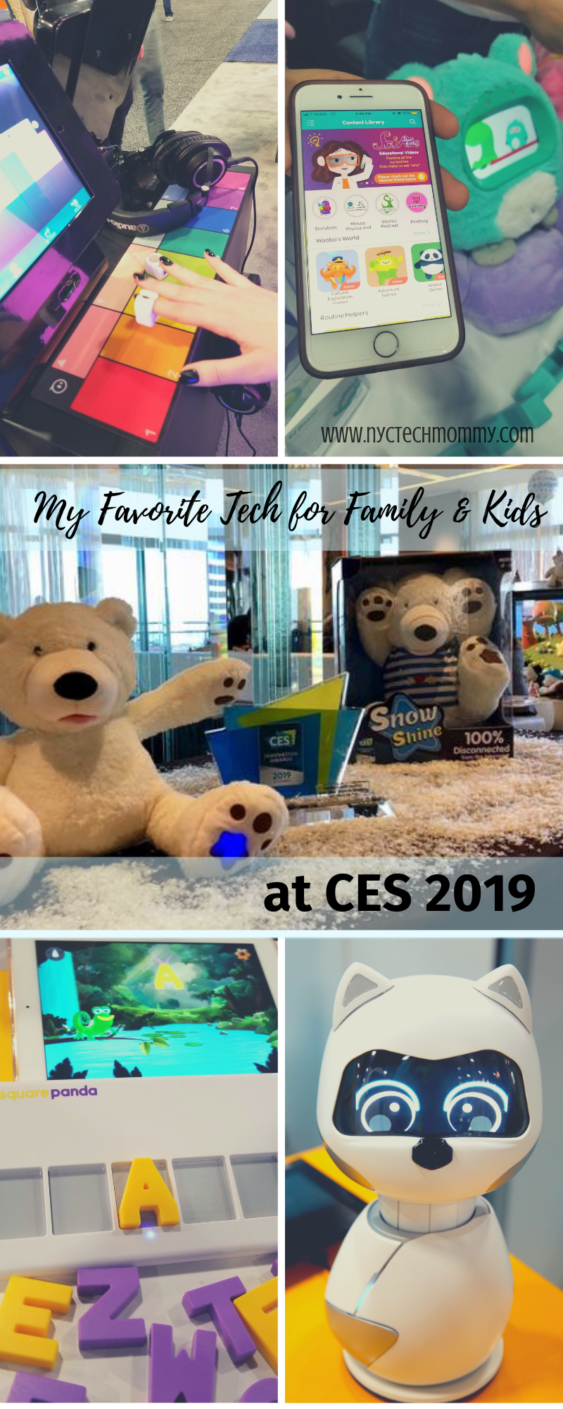 Tech for Family and Kids at CES 2019