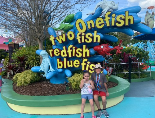 One Fish, Two Fish, Red Fish, Blue Fish at Seuss Landing