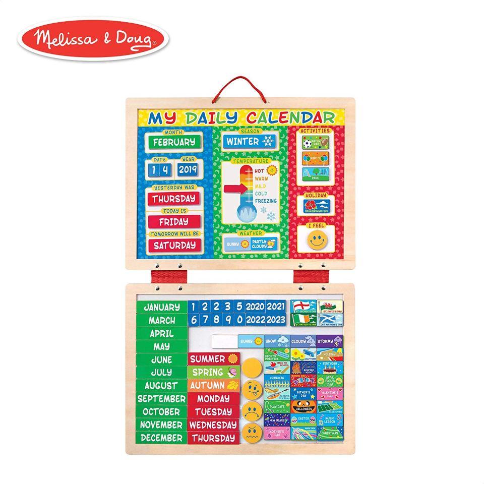 Back to School Essentials - Melissa & Doug Daily Calendar