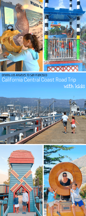 Driving Los Angeles to San Francisco, here's our California Road Trip Itinerary of best places to visit with kids.