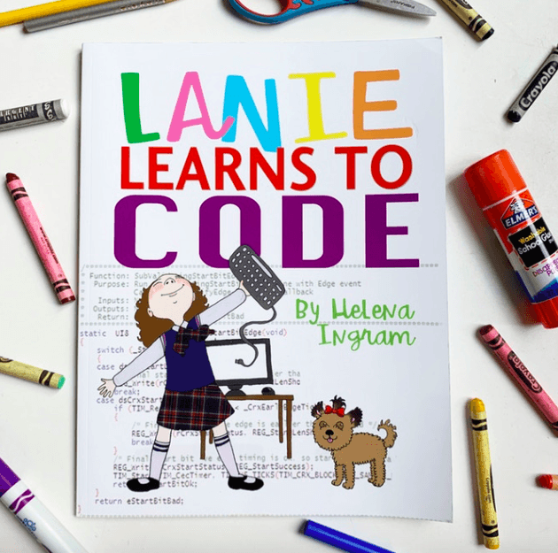 Lanie Learns to Code -- new children's book inspires kids to code