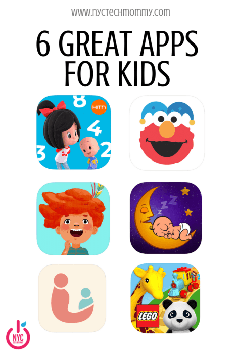 GREAT APPS FOR KIDS + valuable tools and resources for parents