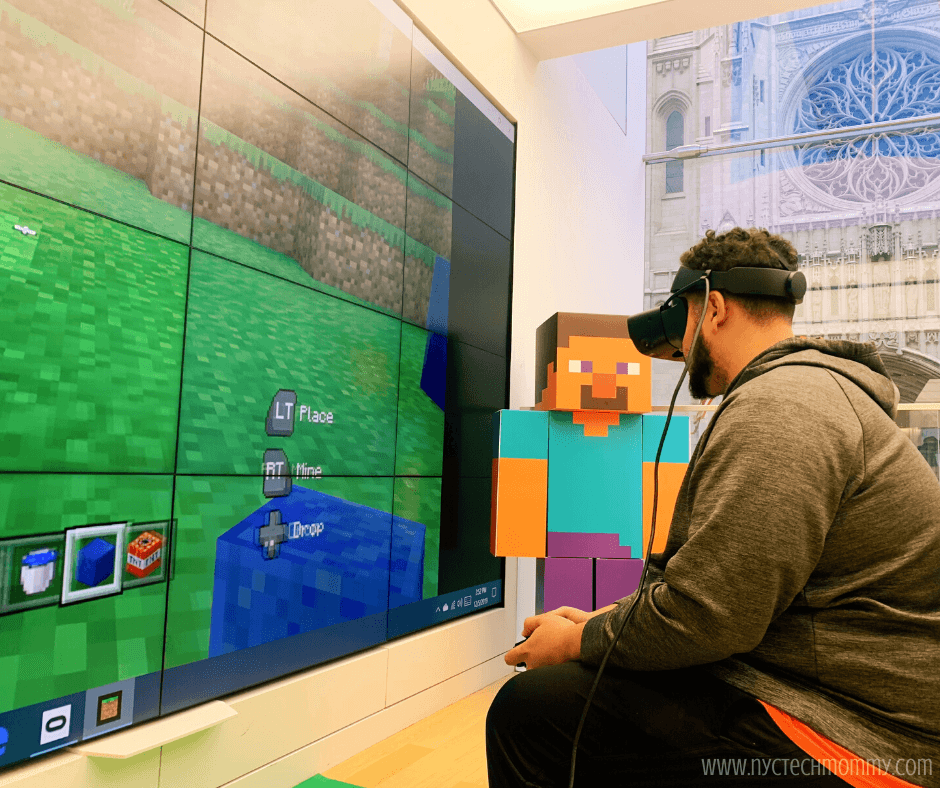 Check out the fun Minecraft experiences happening right now at a Microsoft Store near you -- Including Minecraft Earth & Minecraft in VR