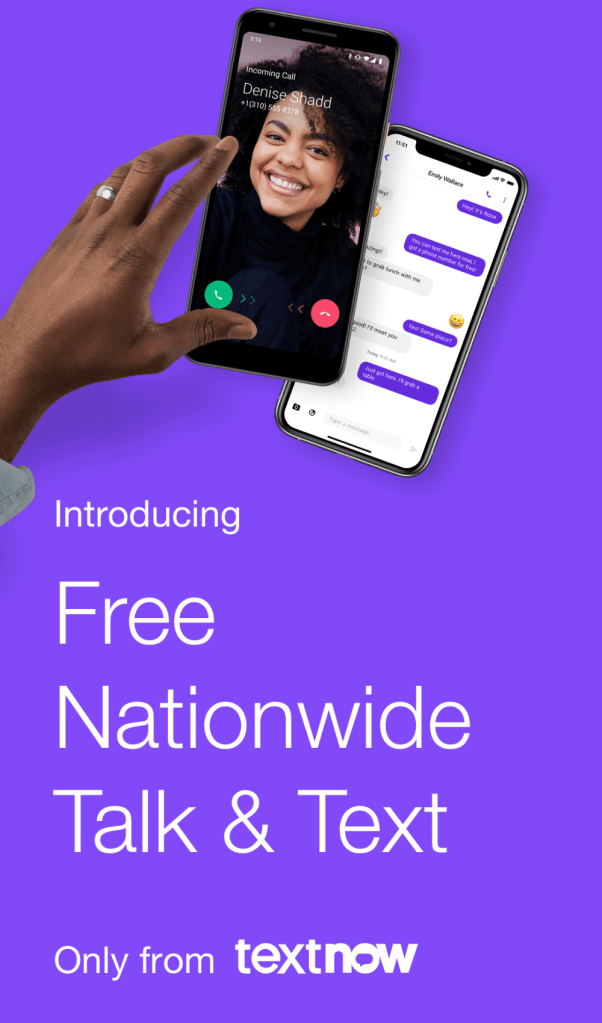 Looking for an inexpensive phone plan? TextNow Offers NEW Free Nationwide Talk and Text Service