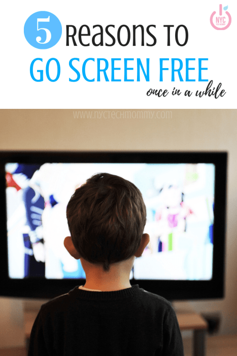 Nowadays, we all spend lots of time glued to our screens but have you ever wondered what would happen if you went screen free for a week? Here are 5 reasons to go screen free once in a while... Even your health will benefit from this!