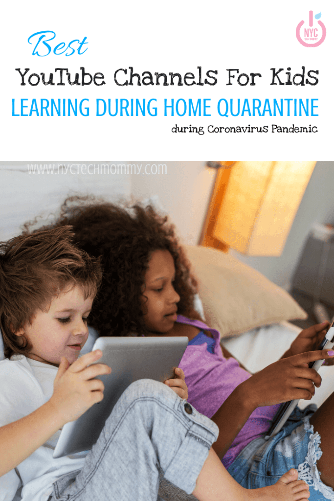 Stuck at home teaching the kids? Here's a great list of the best YouTube channels for kids learning during home quarantine.