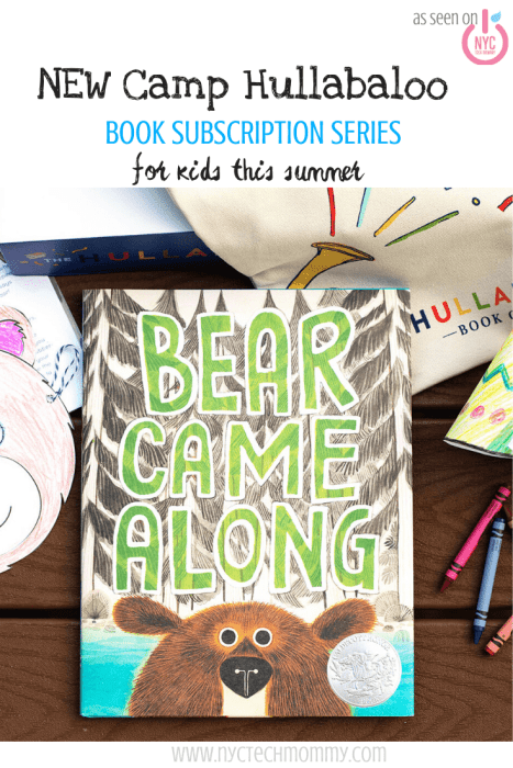 Camp Hullabaloo - NEW book subscription series for kids this summer