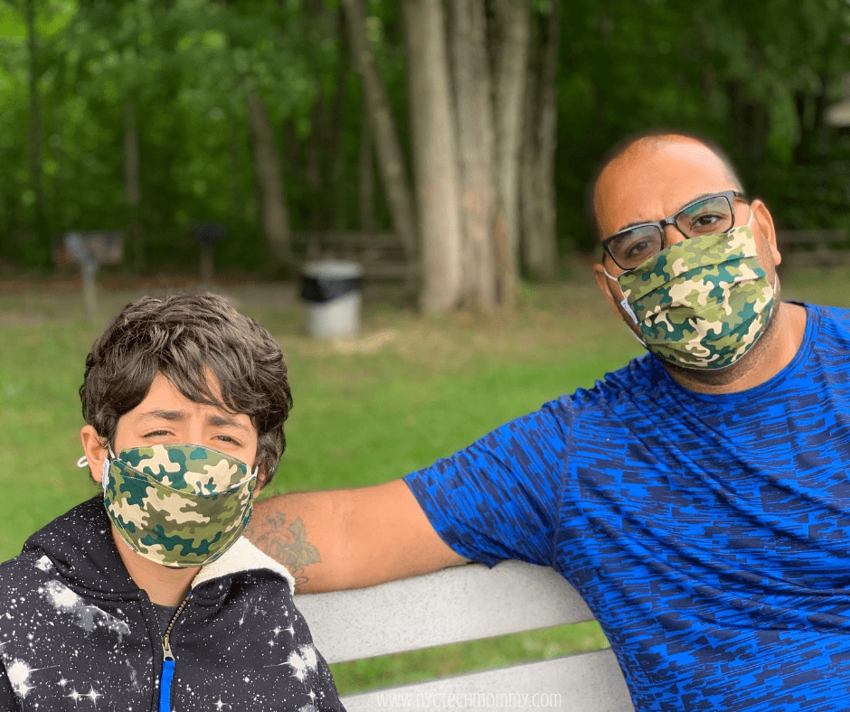 Back to School Must-Haves -- comfortable masks from Funkins are the perfect fit for the entire family
