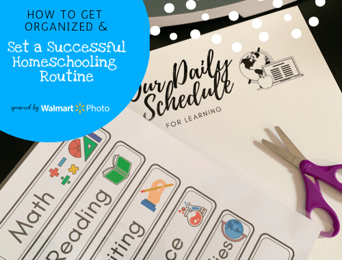 Daily routines can be great for everyone's mental and physical health, as well as a kid's concentration and learning. Here are great tips to help you set up successful home learning routines, classroom inspiration for teachers, and other educational ideas from an experienced educator. Included are free printables to help you get started -- set expectations, create a flow of the day schedule, build reading stamina, and more! | Sponsored content by @nyctechmommy for @wm_photo_center #WalmartPhoto