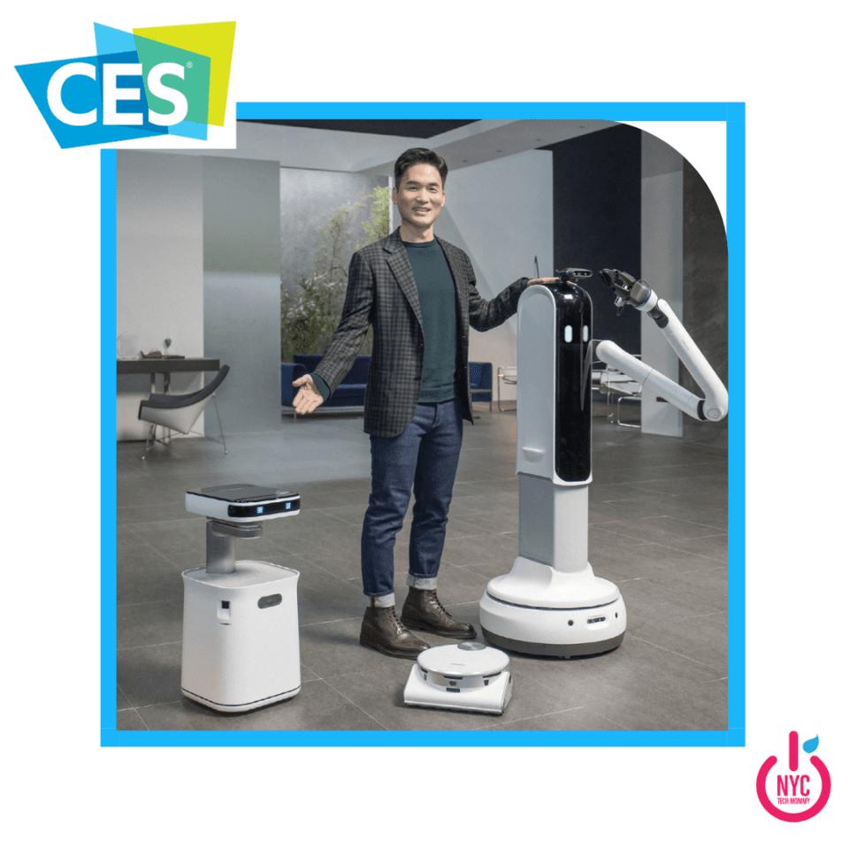 Samsung robots at CES 2021