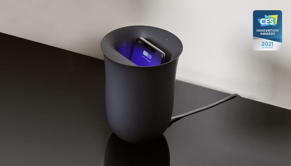 Oblio UV-C Sanitizer & Charger All-In-One - Top Tech Trends and Gadgets CES 2021