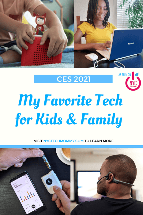 Check out my favorite tech for kids and family this year -- make family life easier, and even more fun