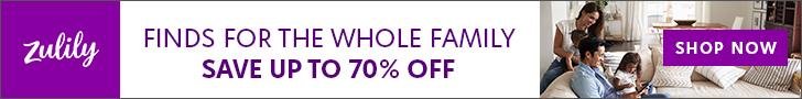 Shop Zulily Deals for the whole family -- save up to 70%
