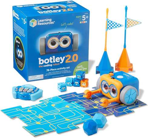 Summer Learning Toys - Learning Resources Botley 2.0 Coding Robot for Kids