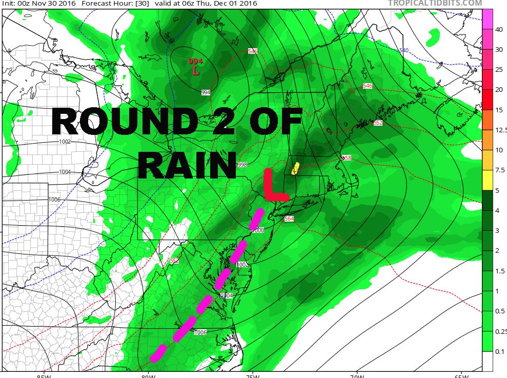 NYC RAIN ROUND TWO