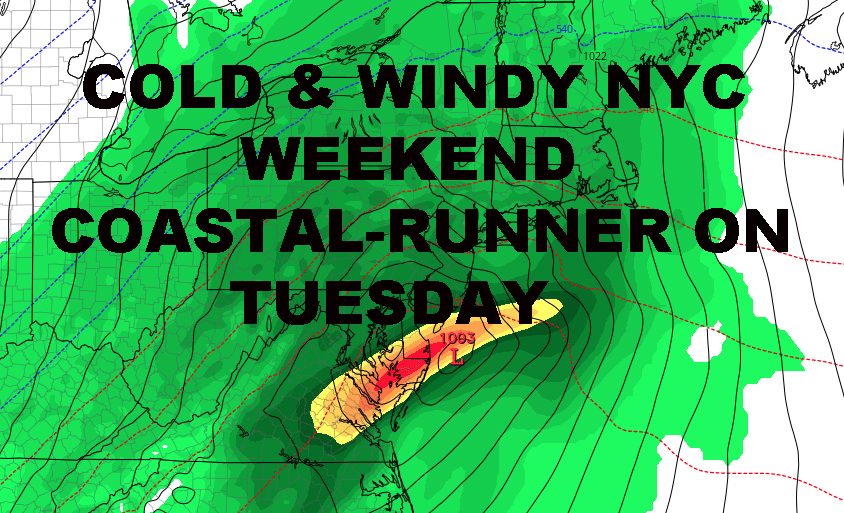 NYC SCATTERED FIRST FREEZE OVERNIGHT ADDITIONAL RAIN WIND TUESDAY