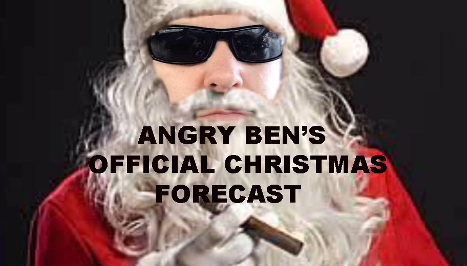 ANGRY BENS OFFICIAL 2018 NYC CHRISTMAS FORECAST