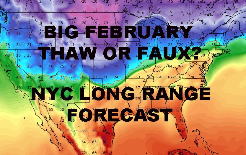 NYC LONG RANGE OUTLOOK FEBRUARY 2019