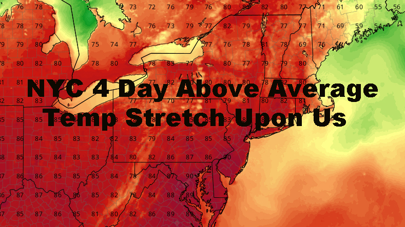 NYC Four Days Of Deep Summer Upon Us