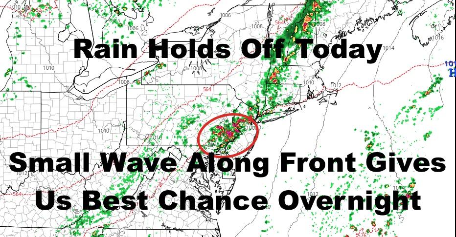 NYC Forecast Holds Tonight & Tomorrow