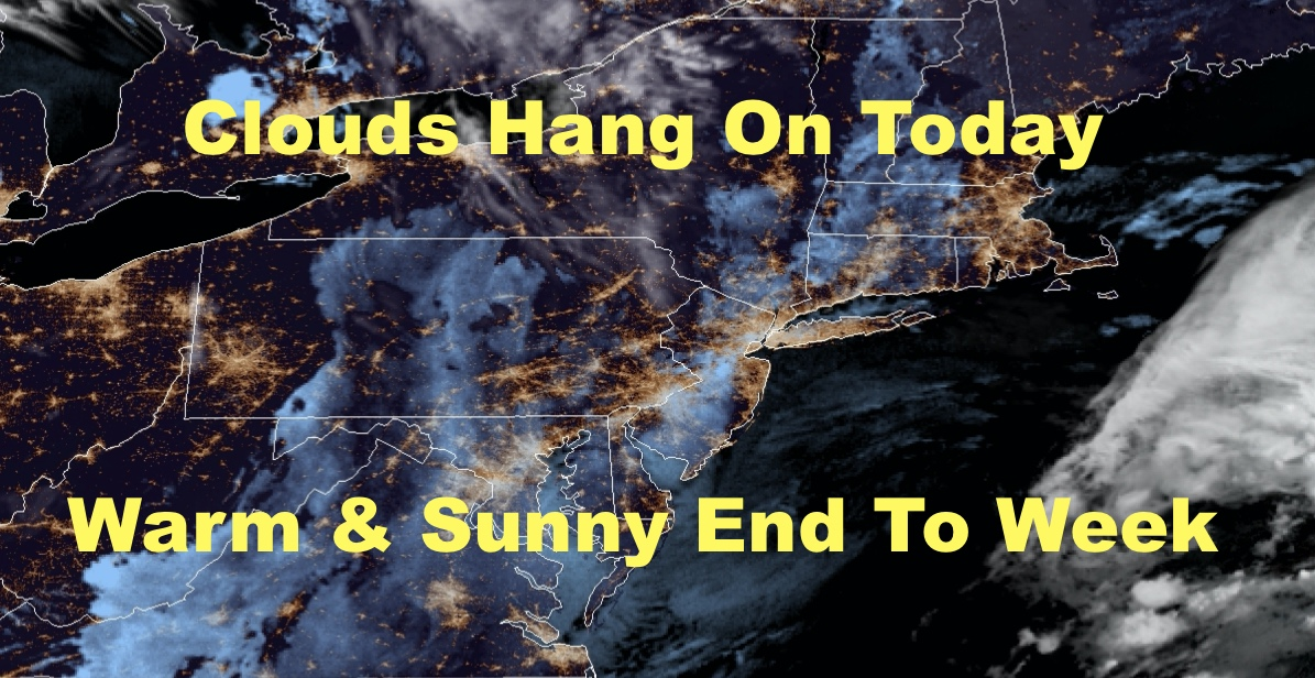 NYC Sunshine Creeps Back After Today