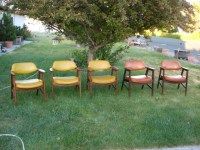 Mid Century Modern Paoli Chair Set Furniture Danish Modern ...