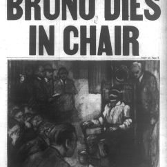 Electric Chair Execution Photos Fishing Loot Card Bruno Richard Hauptmann Lindbergh Baby Kidnapper Is Sent